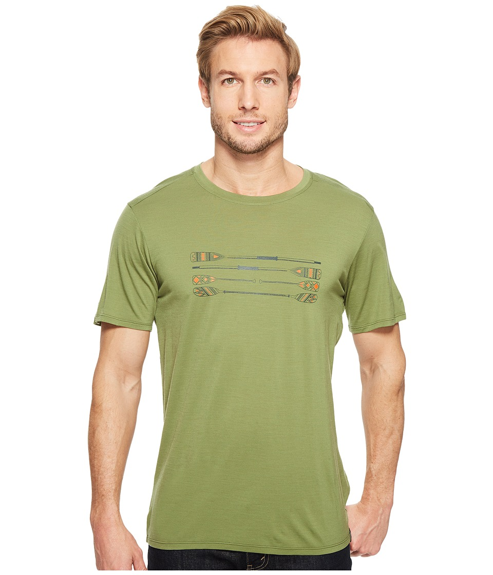 Smartwool - Merino 150 Paddles and Oars Tee (Light Loden) Men's T Shirt