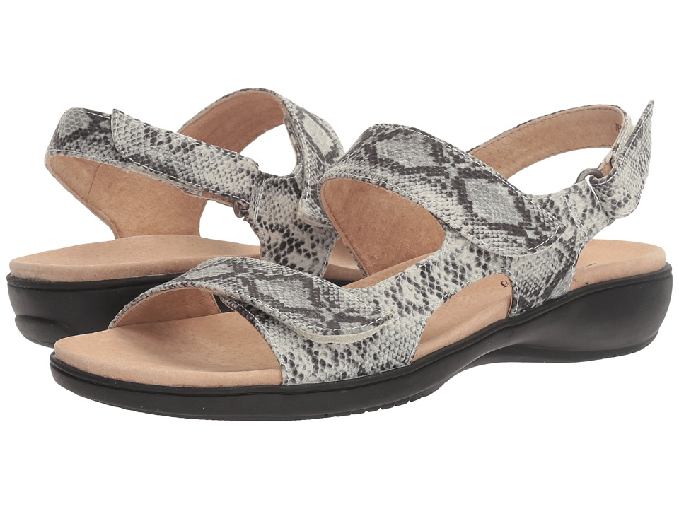 Trotters - Kip (Off White Snake) Women's Sandals