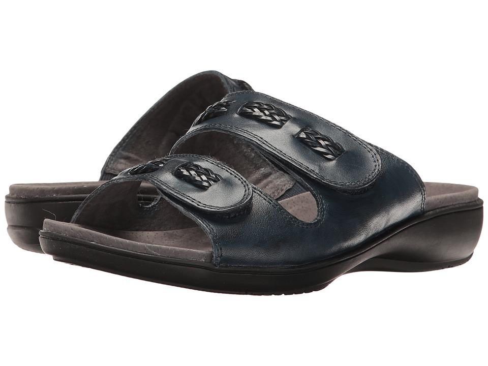 Trotters - Kap (Navy) Women's Sandals