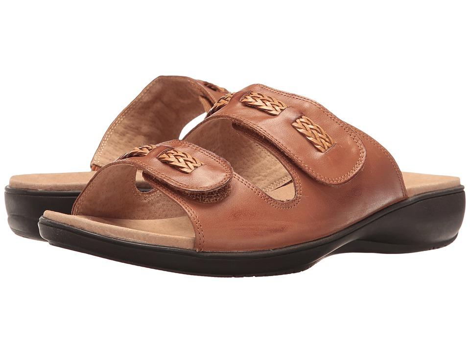 Trotters - Kap (Luggage) Women's Sandals