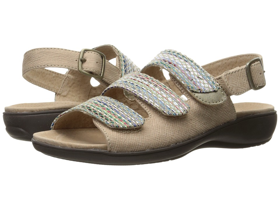 Trotters - Kendra (Sand/Sand Multi) Women's Sandals