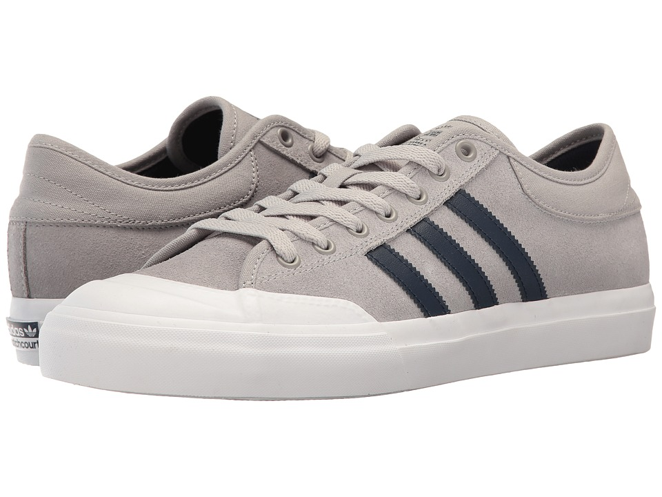 adidas Skateboarding - Matchcourt (MGH Solid Grey/Collegiate Navy/White) Skate Shoes