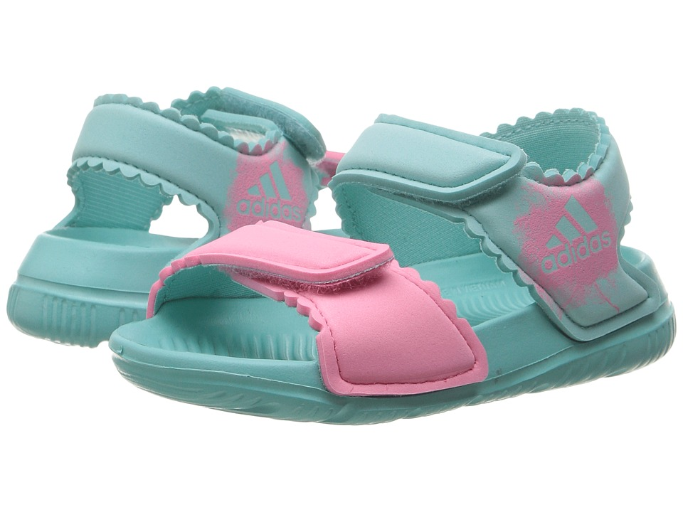 adidas Kids - AltaSwim (Infant/Toddler) (Easy Mint/Easy Pink/Easy Pink) Girls Shoes