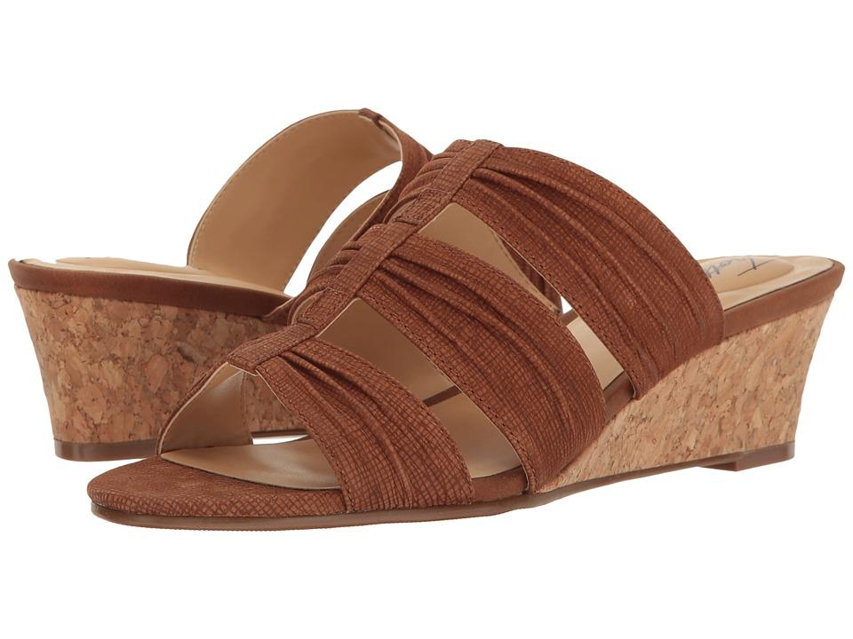 Trotters - Mia (Cognac) Women's Shoes