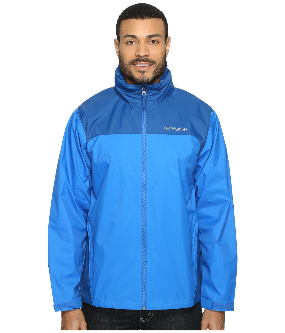 Columbia Glennaker Lake Rain Jacket (Super Blue/Marine Blue) Men