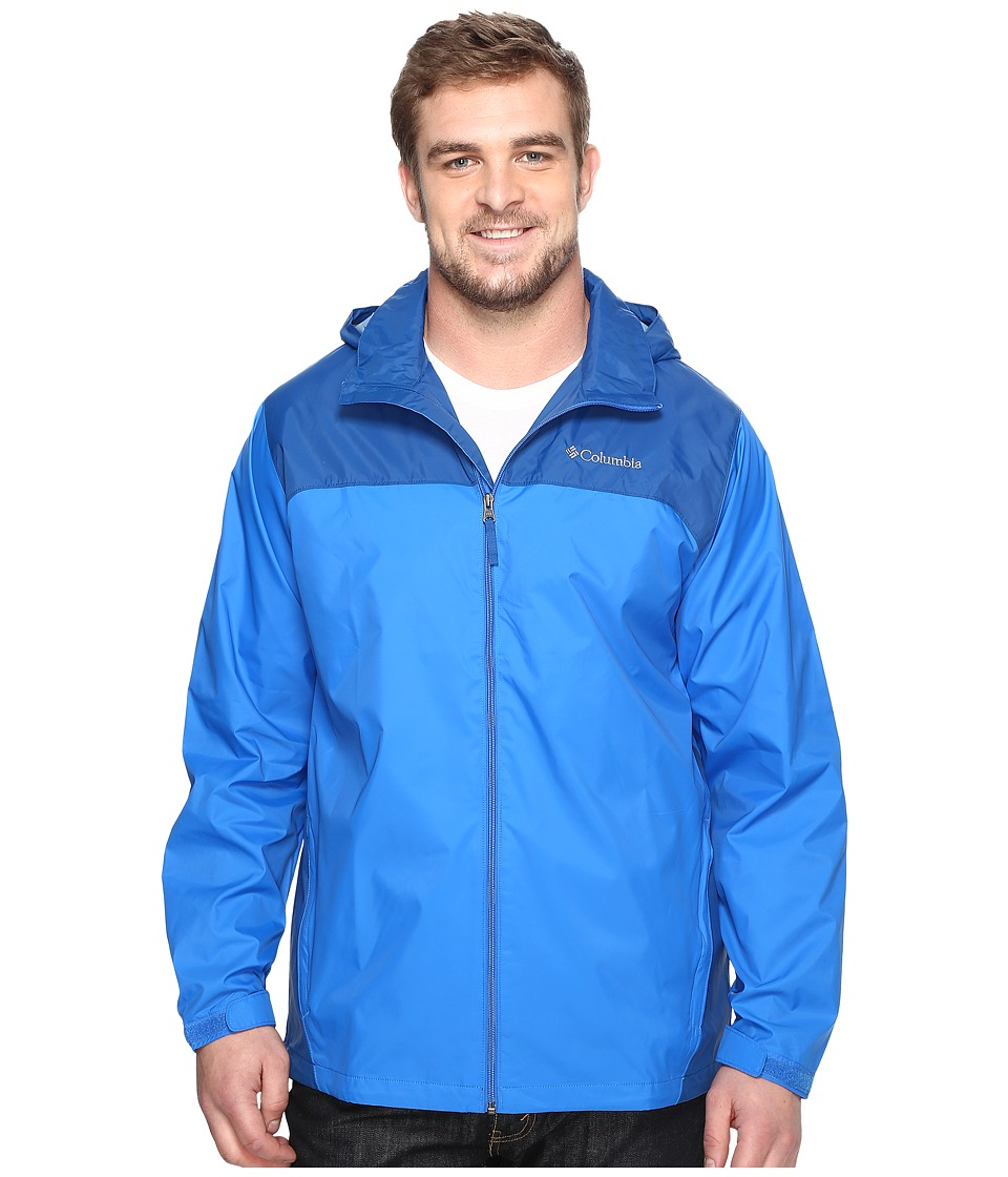 Columbia Big Tall Glennaker Lake Jacket2 (Super Blue/Marine Blue) Men