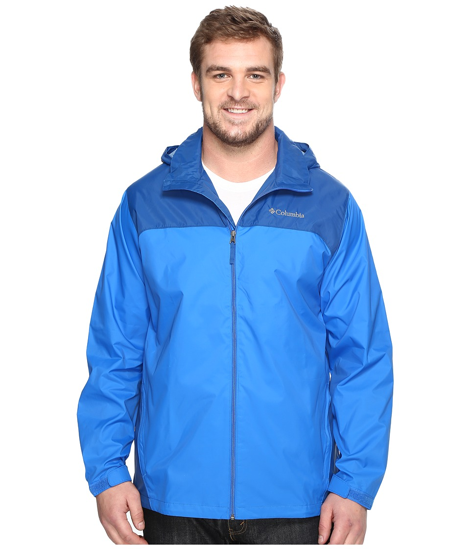 Columbia Big Tall Glennaker Lake Jacket (Super Blue/Marine Blue) Men