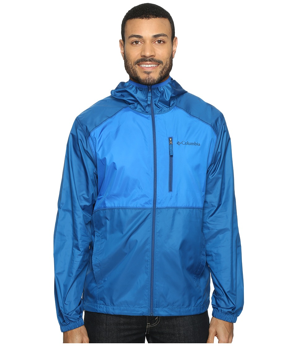 Columbia - Flash Forward Windbreaker (Marine Blue/Super Blue) Men's Coat