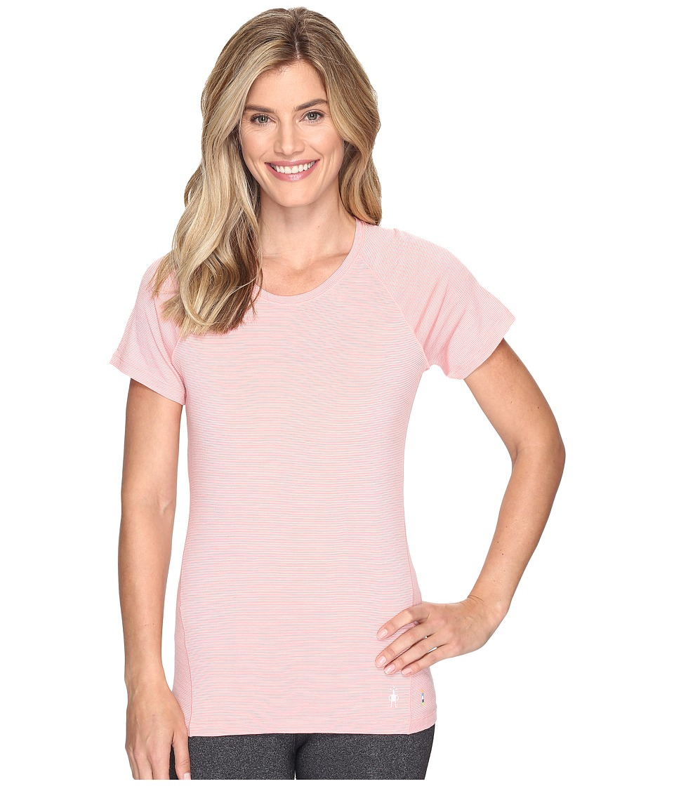 Smartwool Merino 150 Baselayer Pattern Short Sleeve (Mineral Pink) Women