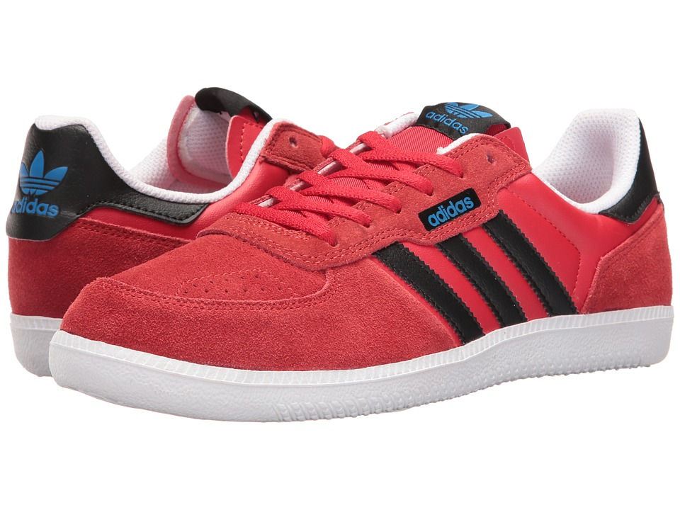 adidas Skateboarding - Leonero (Scarlet/Black/White) Men's Skate Shoes