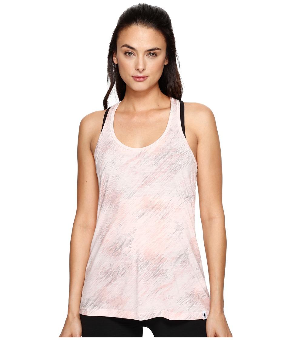 Smartwool Merino 150 Pattern Tank Top (Pink Horizon) Women