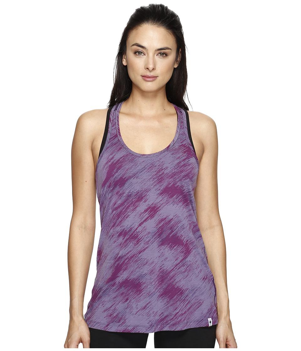 Smartwool Merino 150 Pattern Tank Top (Desert Purple) Women
