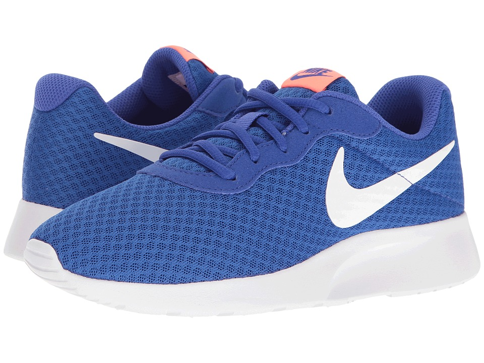 Nike - Tanjun (Paramount Blue/White/Lava Glow) Women's Running Shoes