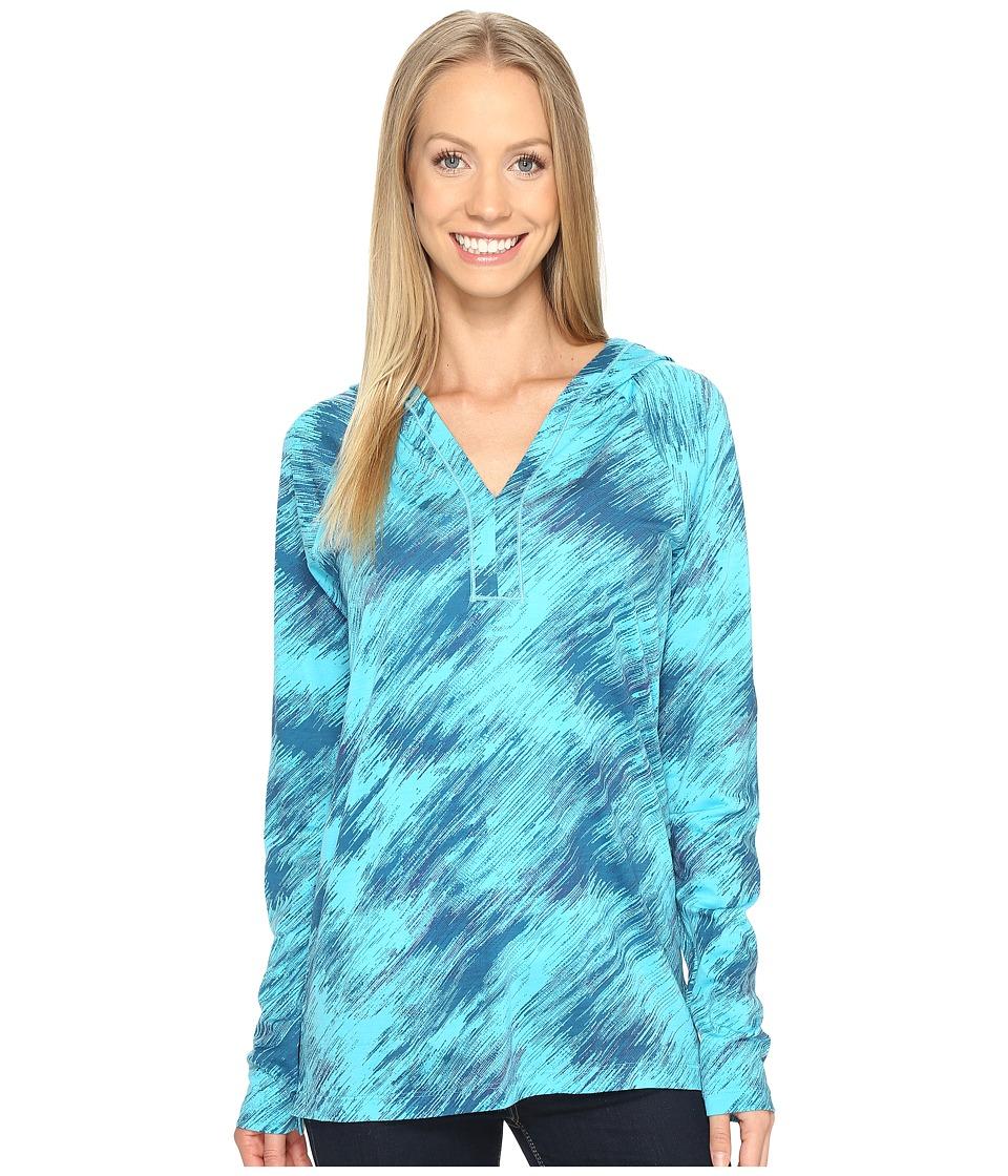 Smartwool Merino 150 Pattern Hoodie (Light Capri) Women