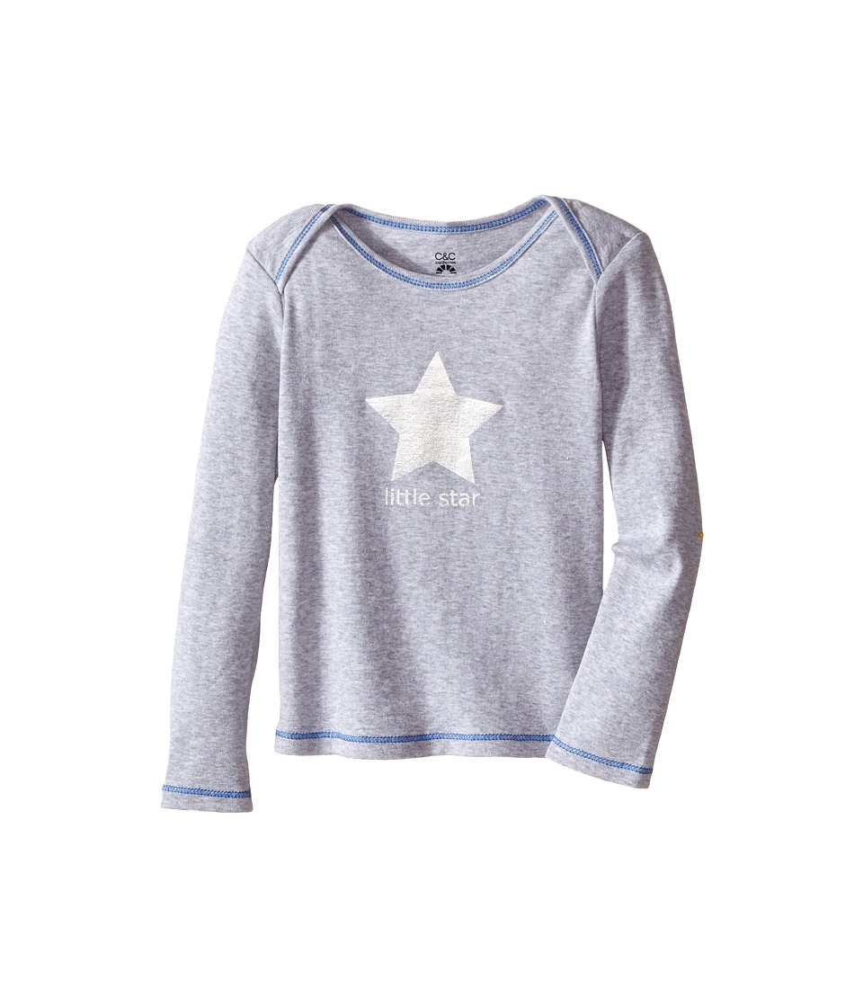 C&C California Kids - Little Star Top (Infant) (French Blue) Boy's Clothing