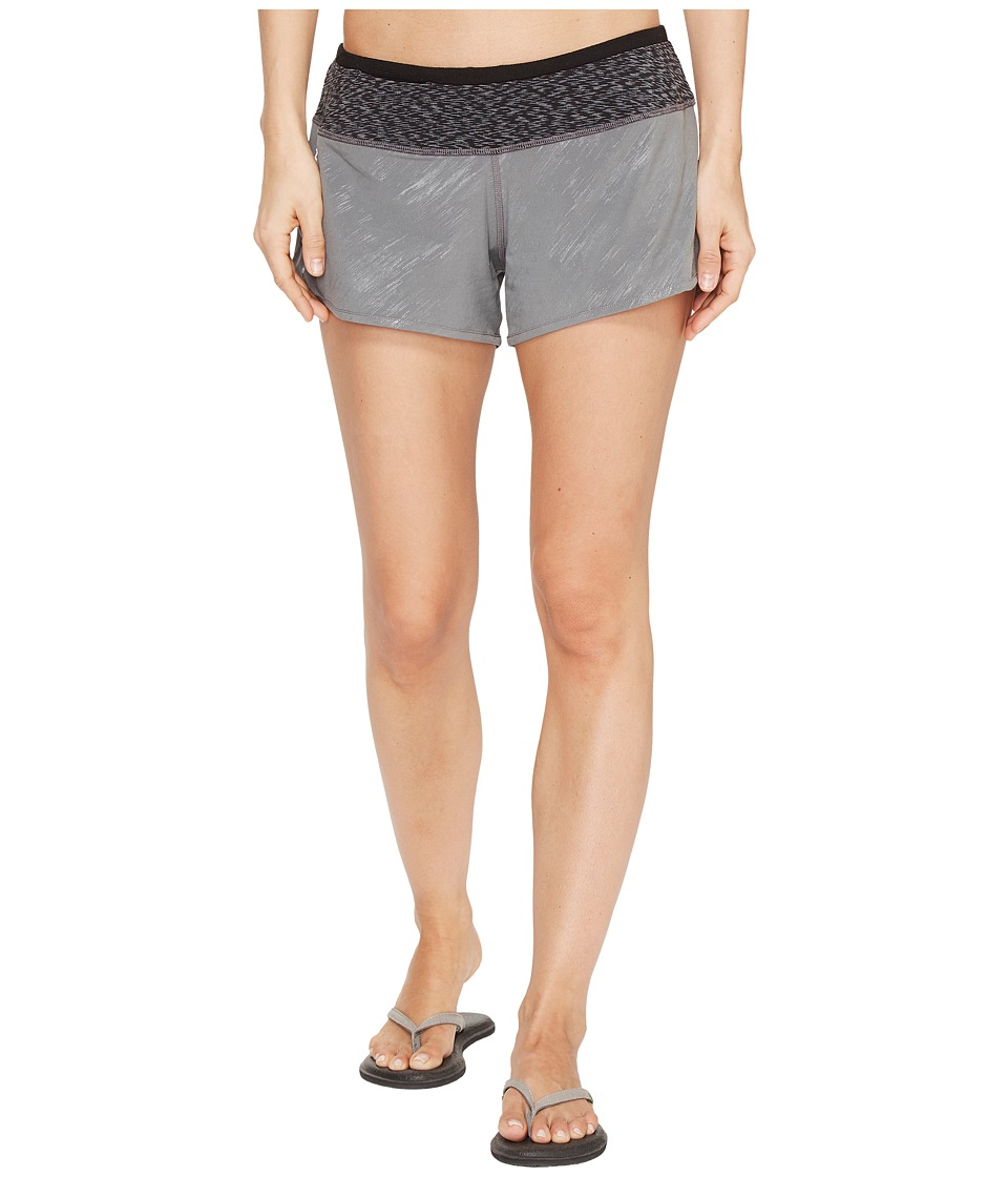 Smartwool PhD Pattern Shorts (Medium Gray) Women