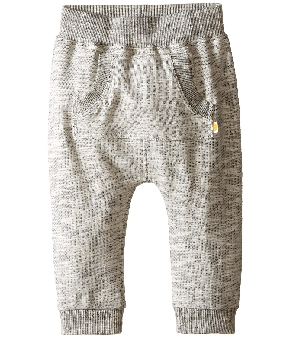 C&C California Kids - Heather Grey Jogger Pants (Infant) (Medium Grey Heather) Boy's Casual Pants