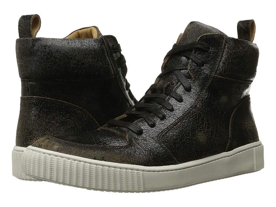 John Varvatos Bedford Hi Top (Black Sand) Men