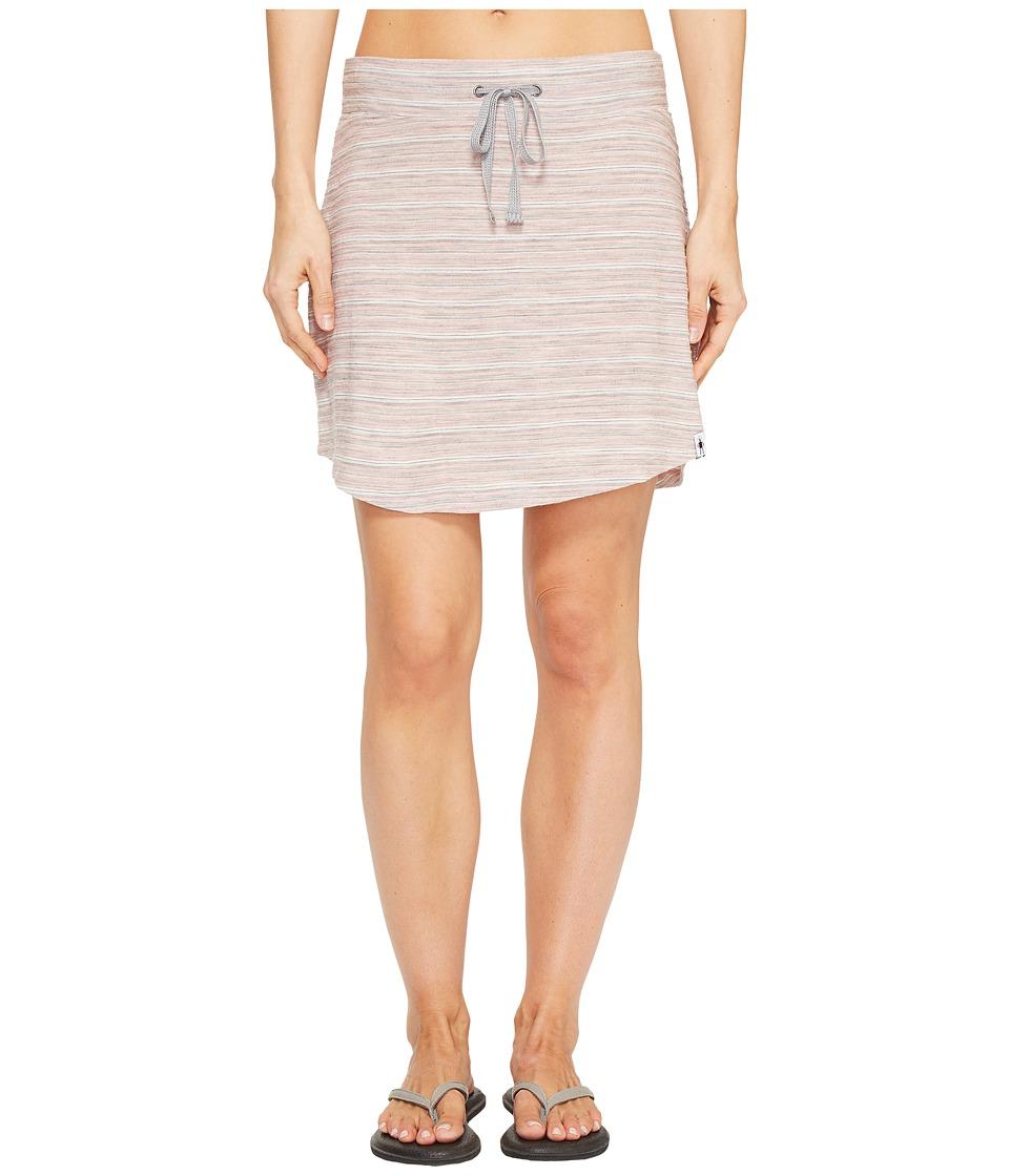 Smartwool - Horizon Line Skirt (Mineral Pink) Women's Skirt