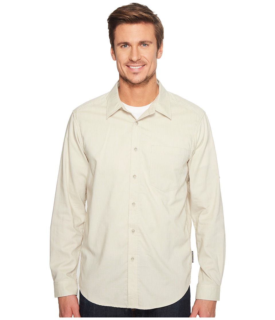 ExOfficio Lampara Long Sleeve Shirt (Light Stone) Men