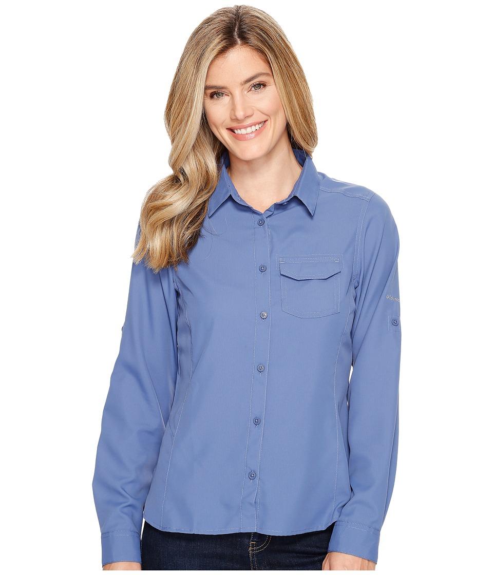 Columbia - East Ridge II Long Sleeve Shirt (Bluebell) Women's Long Sleeve Button Up