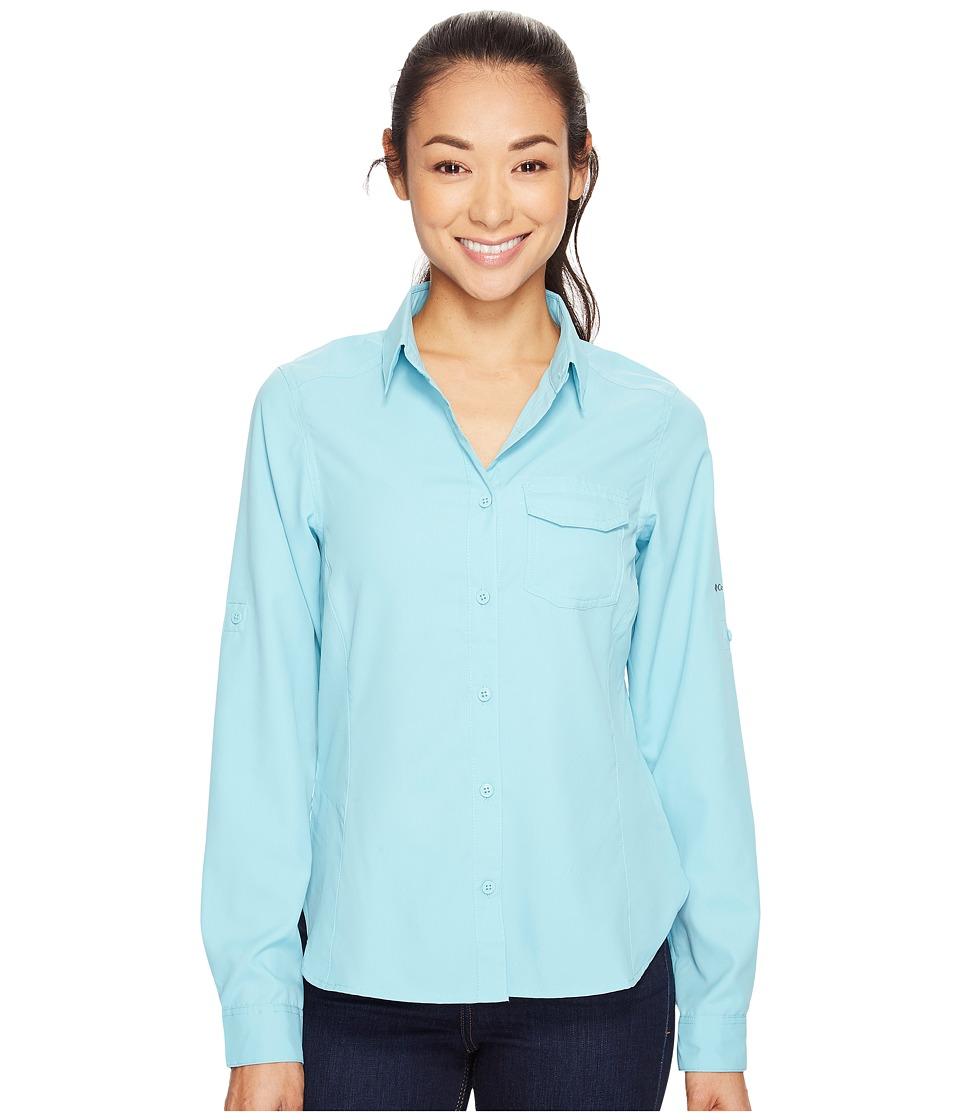 Columbia - East Ridge II Long Sleeve Shirt (Iceberg) Women's Long Sleeve Button Up