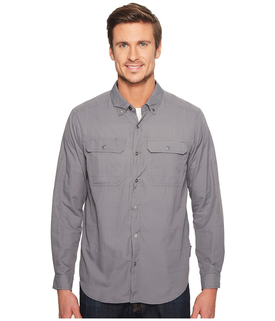ExOfficio - Ventana Long Sleeve Shirt (Pebble) Men's Long Sleeve Button Up
