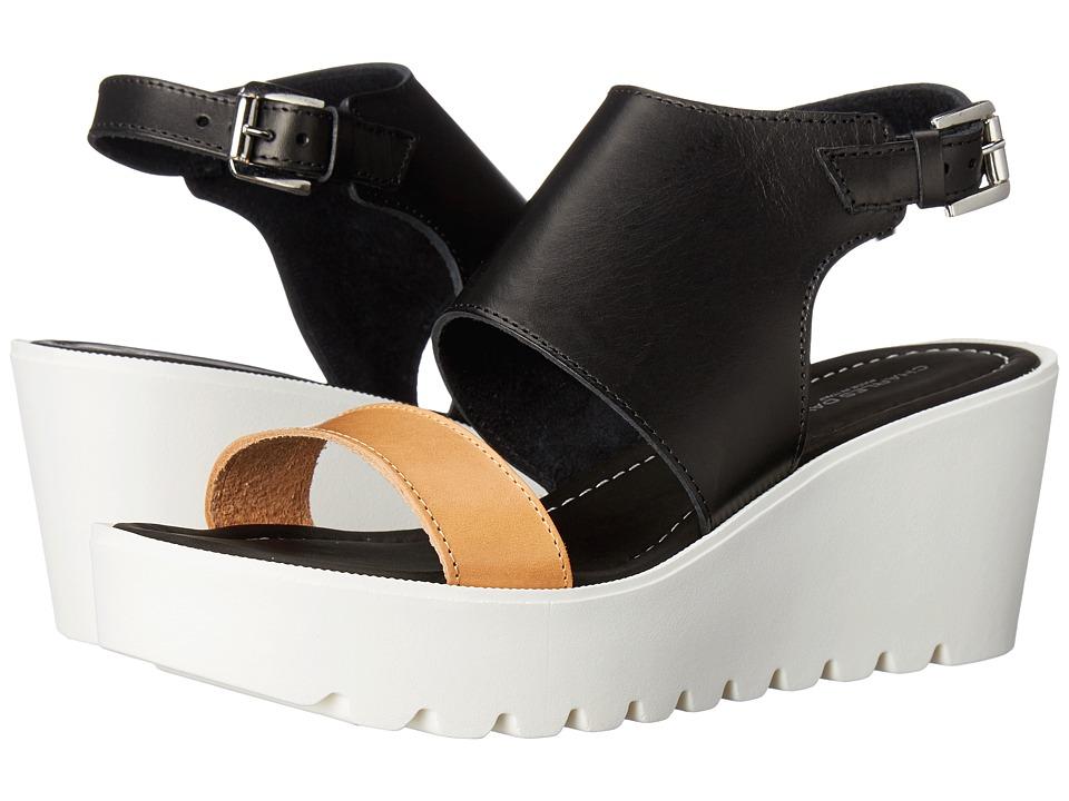 Charles David - Apria (Black/Natural) Women's Shoes