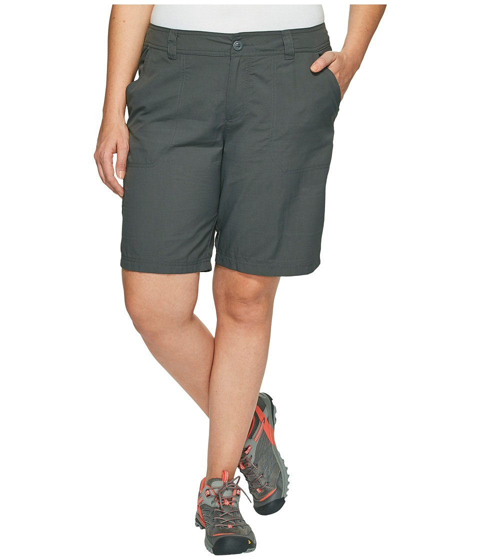 Columbia - Plus Size East Ridge II Shorts (Grill) Women's Shorts