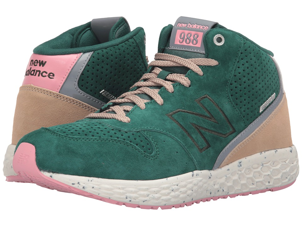 New Balance - MH988 (Green/Pink) Men's Shoes