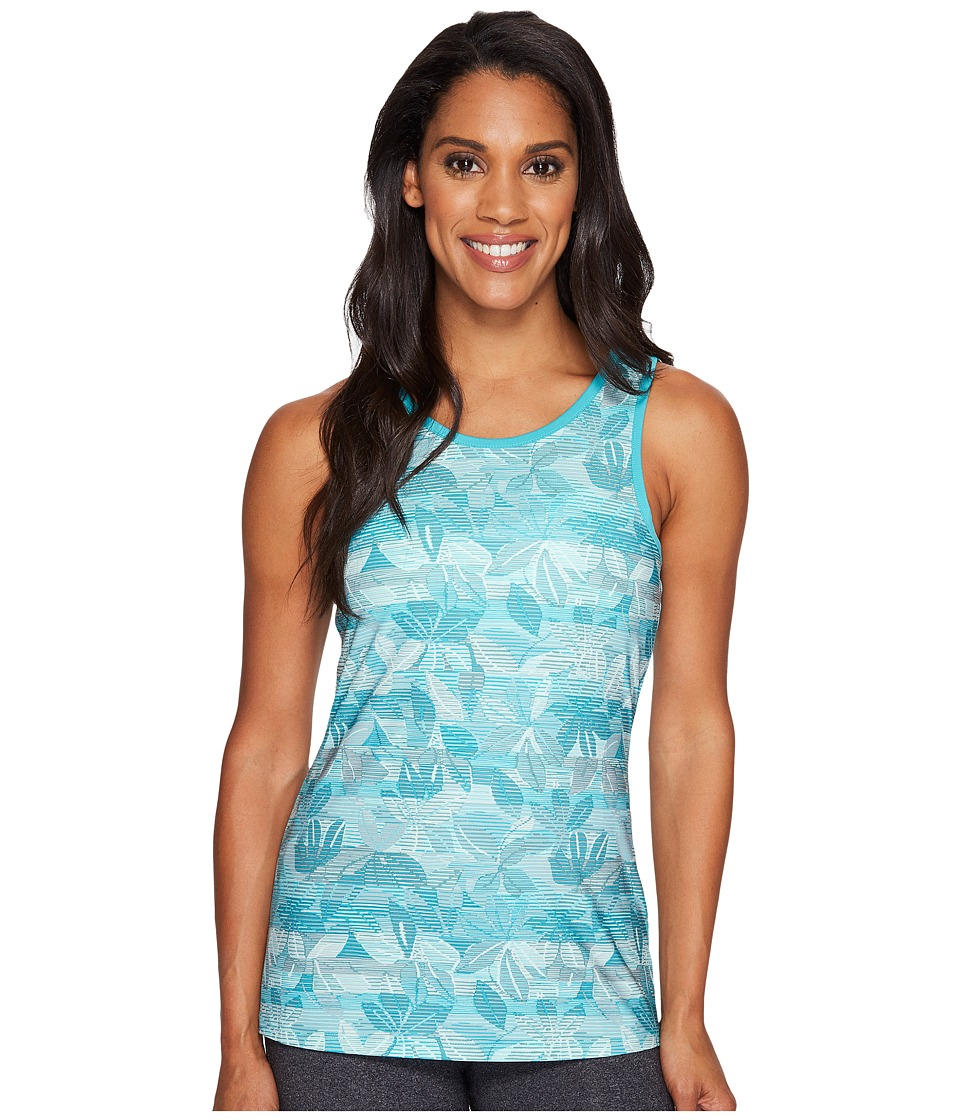Columbia - Siren Splash II Tank Top (Miami Floral Lines) Women's Sleeveless