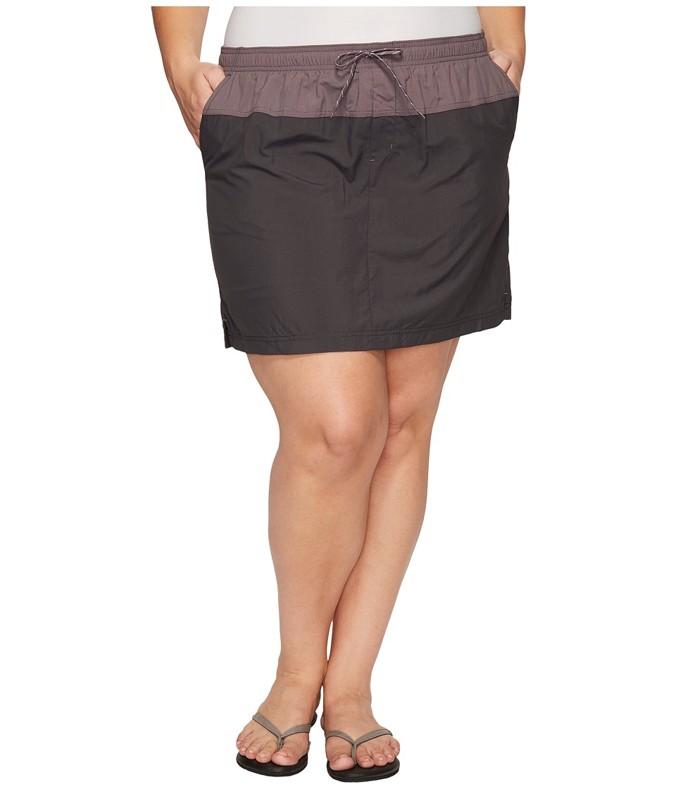 Columbia - Plus Size Sandy River Skort (Shark/Pulse/Grey Ash) Women's Skort