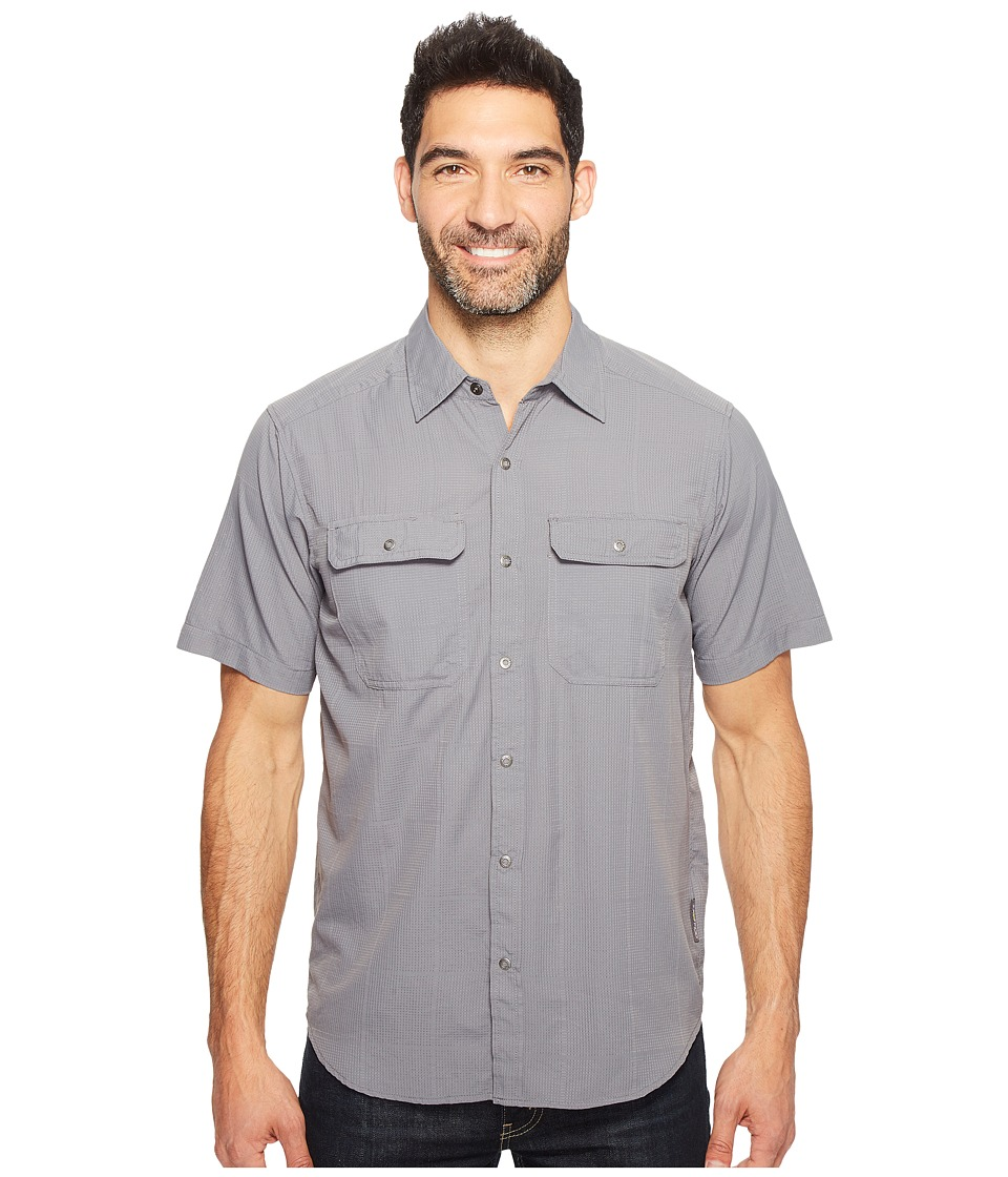 ExOfficio - Ventana Short Sleeve Shirt (Pebble) Men's Short Sleeve Button Up