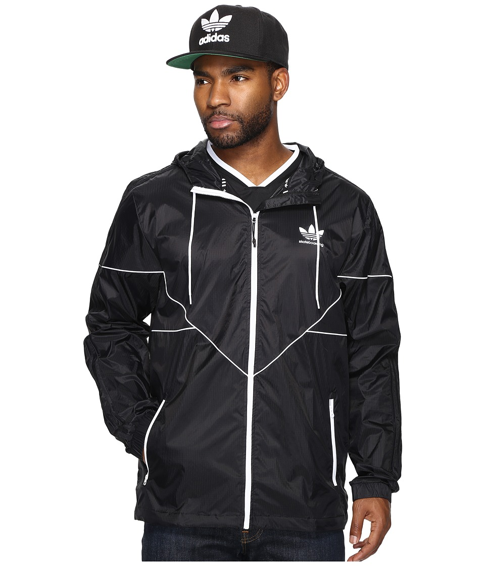 adidas Skateboarding - Tech Jacket (Black) Men's Coat