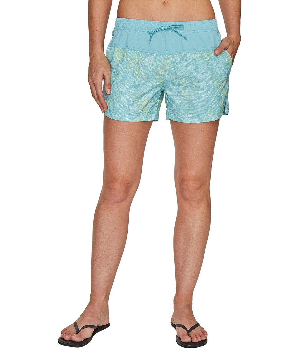 Columbia - Sandy River Printed Shorts (Iceberg Floral Lines) Women's Shorts