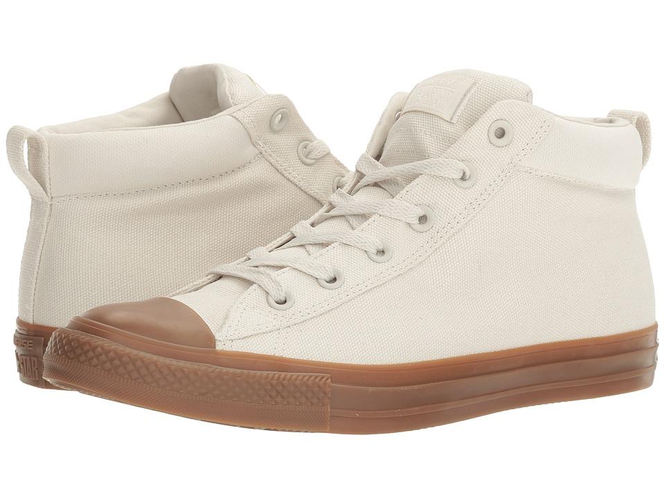 Converse - Chuck Taylor All Star Street Gum Mid (Buff/Dark Honey/Dark Honey) Classic Shoes