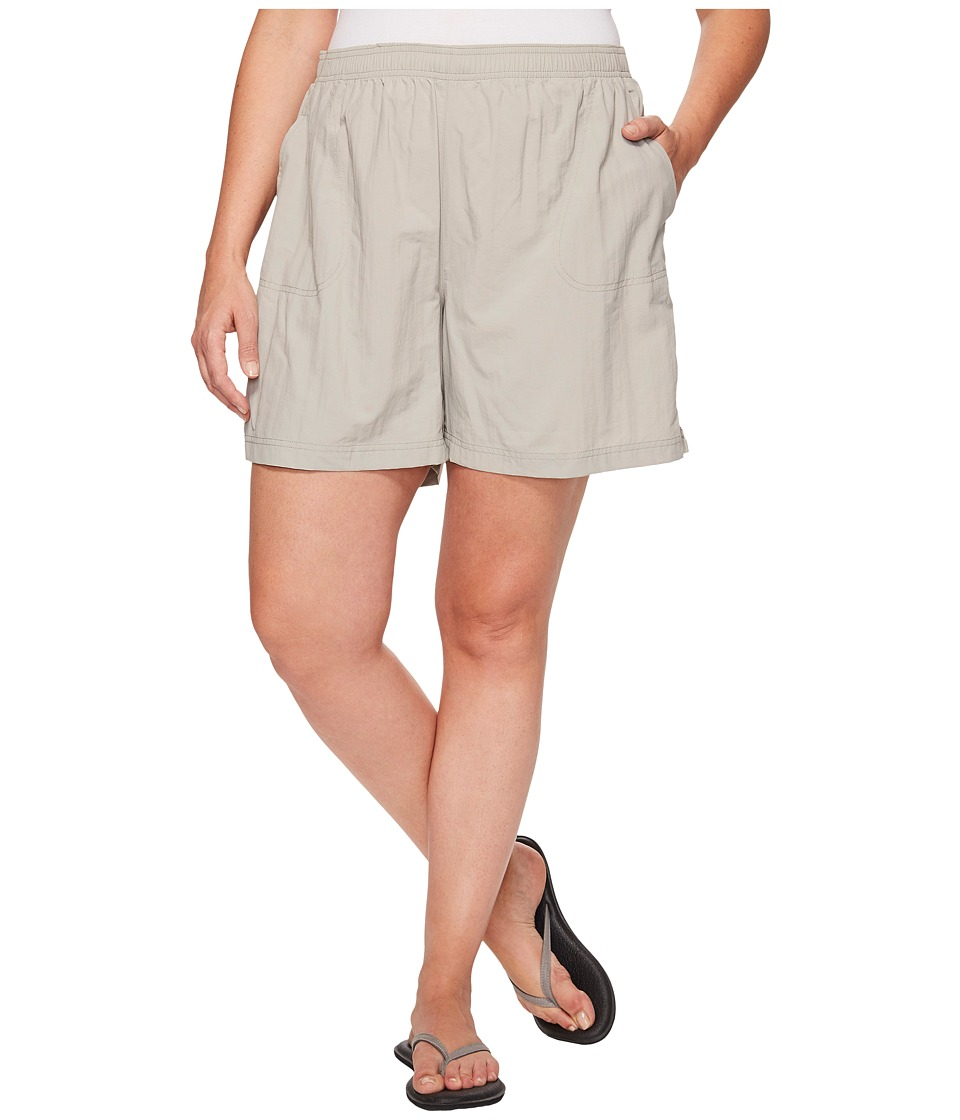 Columbia - Plus Size Sandy River Short (Flint Grey) Women's Shorts