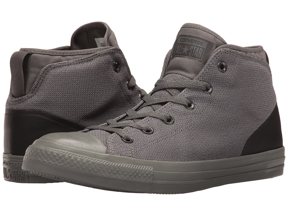Converse - Chuck Taylor All Star Syde Street Textile Mid (Charcoal Grey/Charcoal Grey) Men's Classic Shoes