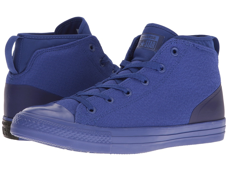 Converse - Chuck Taylor All Star Syde Street Textile Mid (True Indigo/True Indigo/True Indigo) Men's Classic Shoes