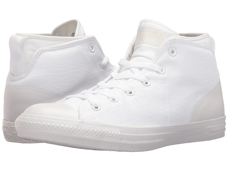 Converse Chuck Taylor All Star Syde Street Textile Mid (White/White/White) Men