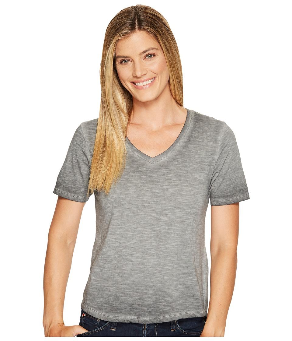 Columbia - Sandy River Treatment Tee (Shark) Women's Short Sleeve Pullover