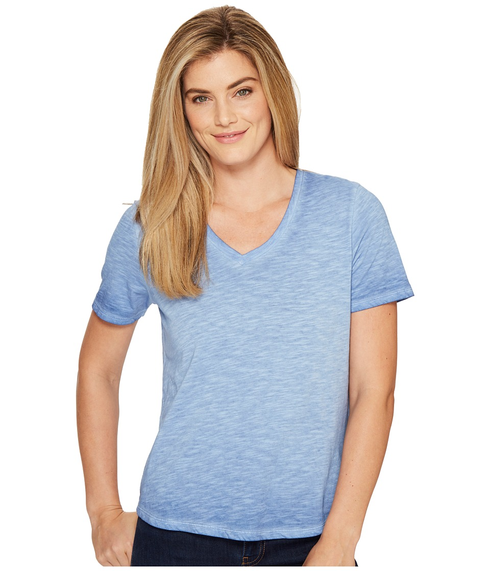 Columbia - Sandy River Treatment Tee (Bluebell) Women's Short Sleeve Pullover