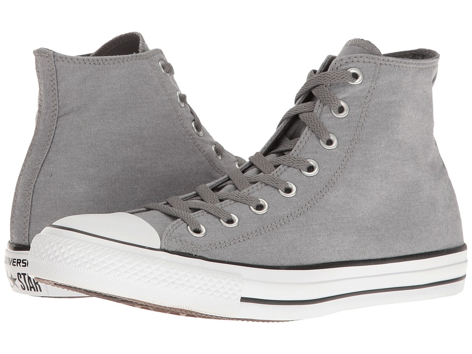 Converse - Chuck Taylor All Star Washed Chambray Hi (Mason/White/Black) Classic Shoes