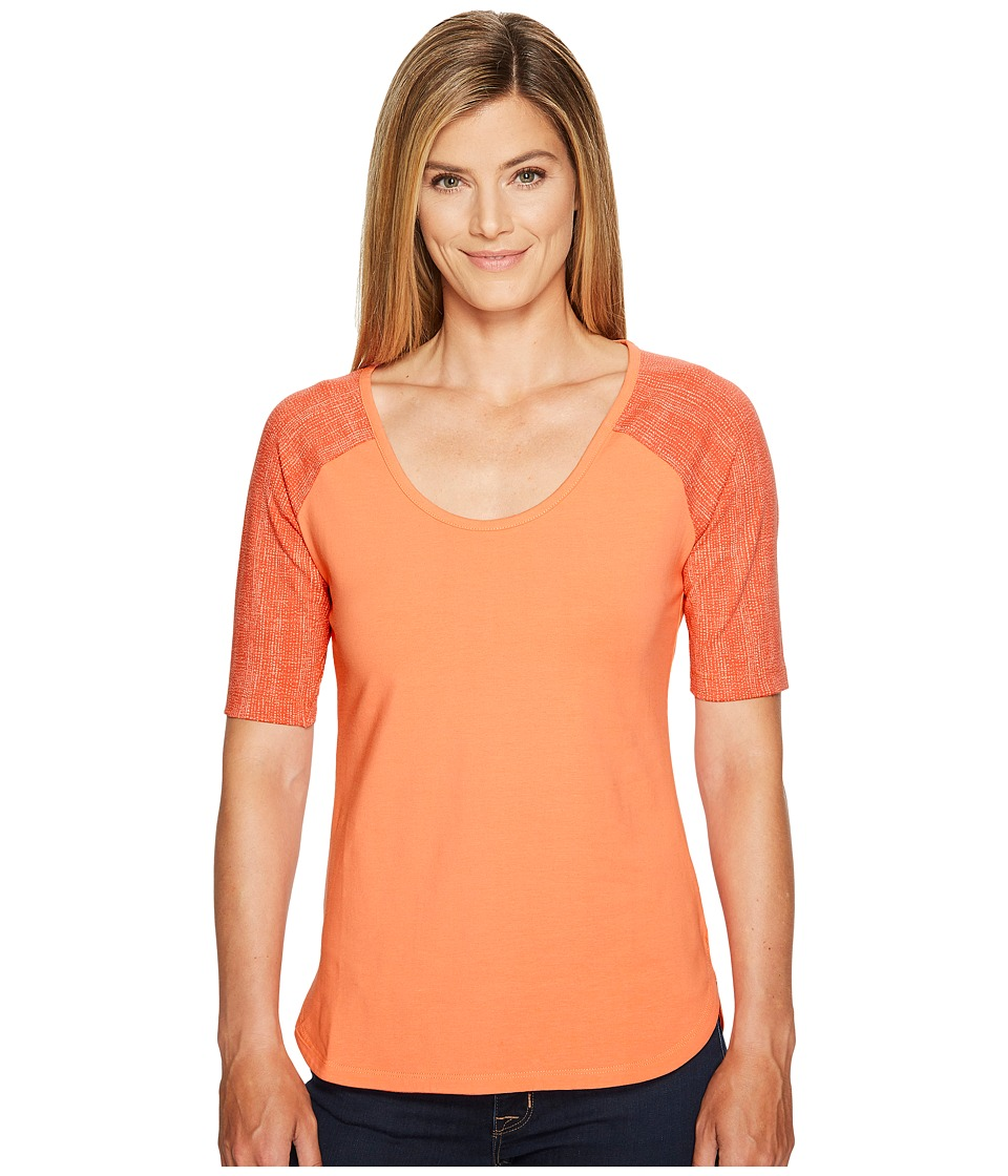 Columbia - State of Mind Tee (Lychee) Women's Long Sleeve Pullover