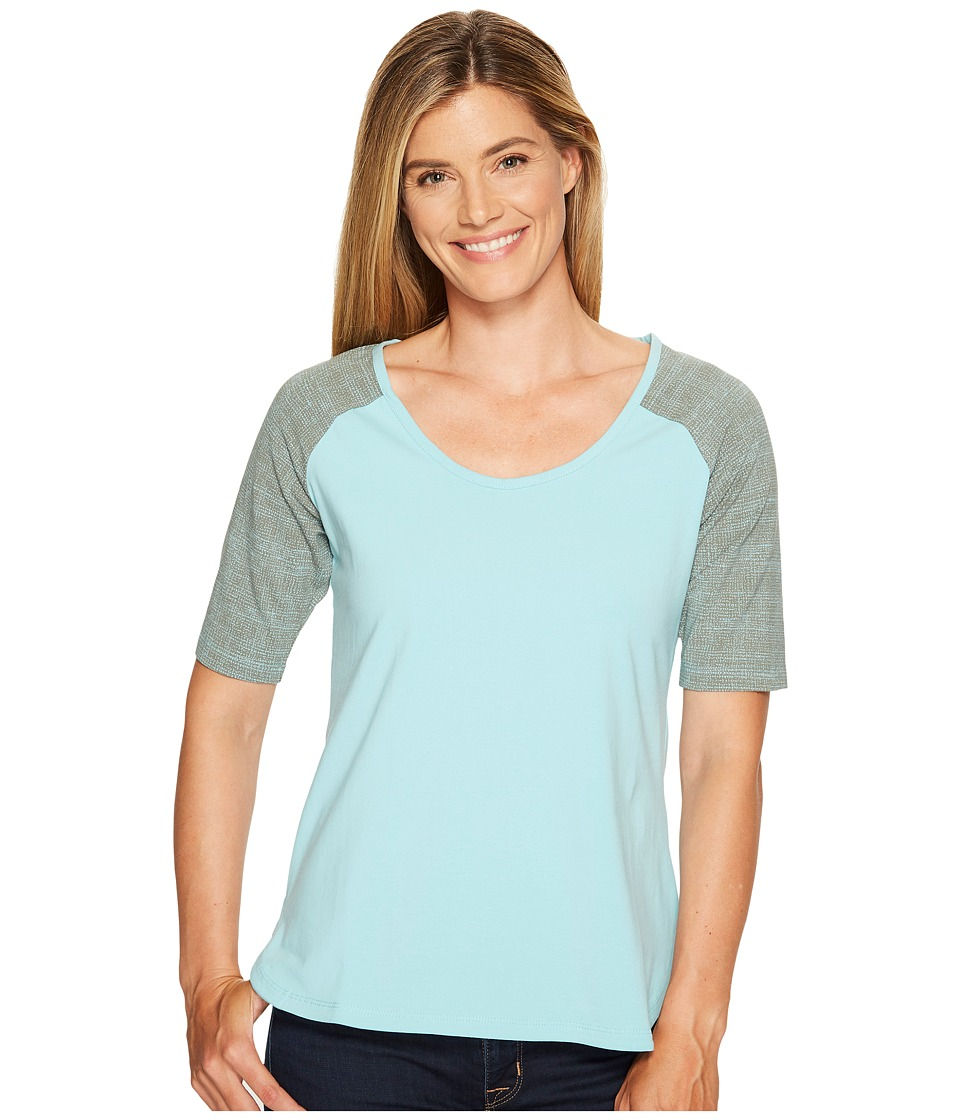 Columbia - State of Mind Tee (Iceberg) Women's Long Sleeve Pullover