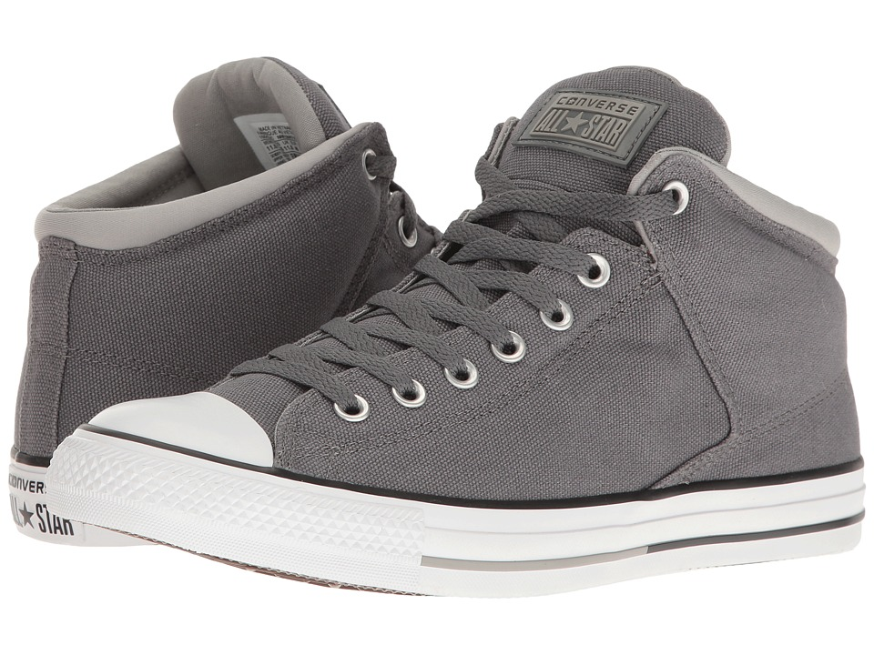 Converse - Chuck Taylor(r) All Star(r) High Street Hi (Thunder/Dolphin/White) Men's Classic Shoes