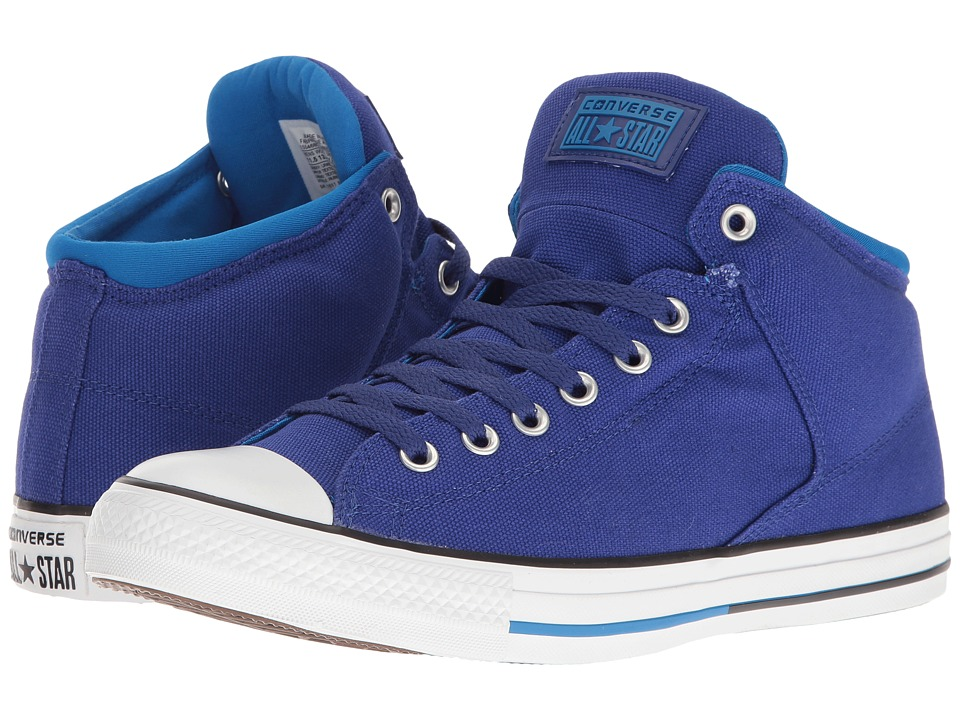 Converse Chuck Taylor(r) All Star(r) High Street Hi (True Indigo/Soar/White) Men