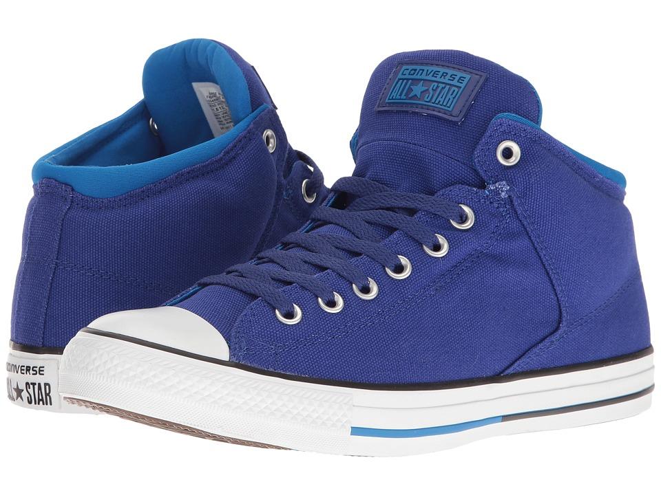 Converse - Chuck Taylor All Star High Street Hi (True Indigo/Soar/White) Men's Classic Shoes