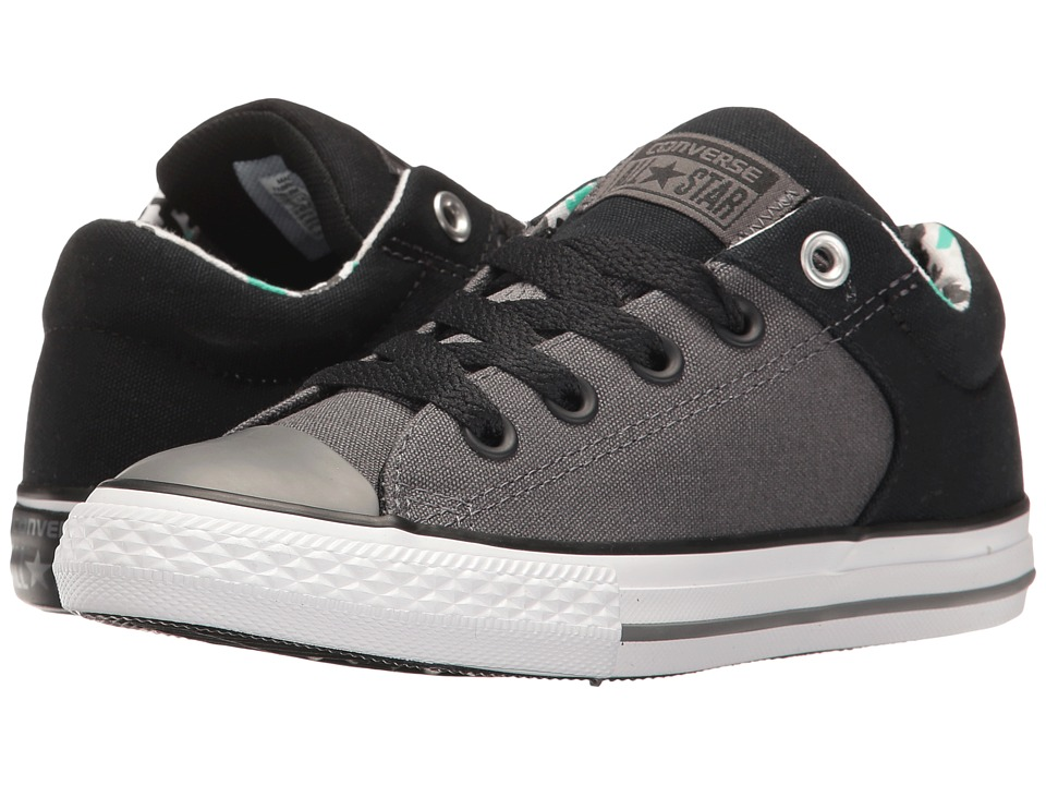 Converse Kids - Chuck Taylor All Star High Street Slip (Little Kid/Big Kid) (Thunder/Black/White) Boy's Shoes