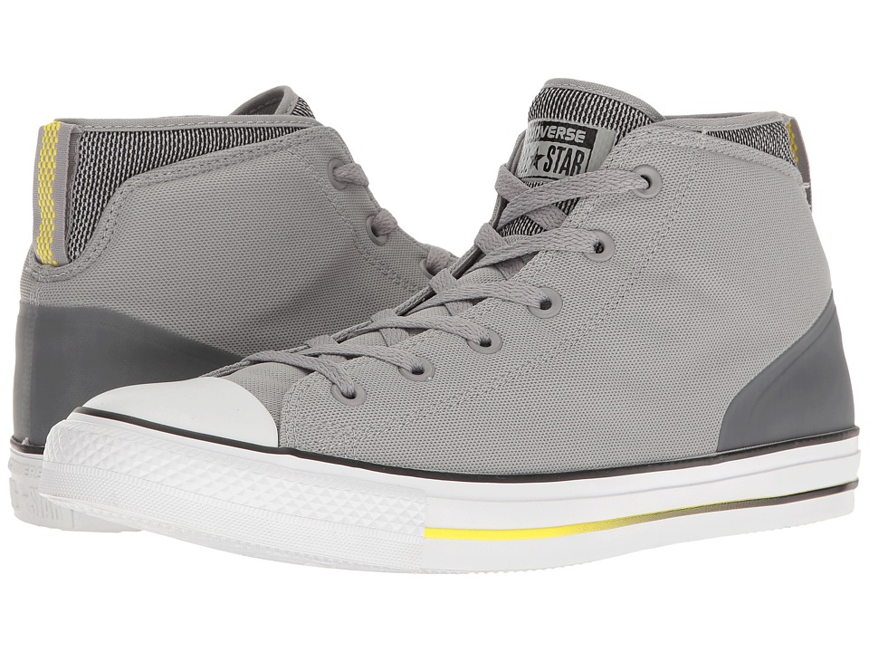 Converse Chuck Taylor(r) All Star(r) Syde Street Summer Mid (Dolphin/Black/Fresh Yellow) Men